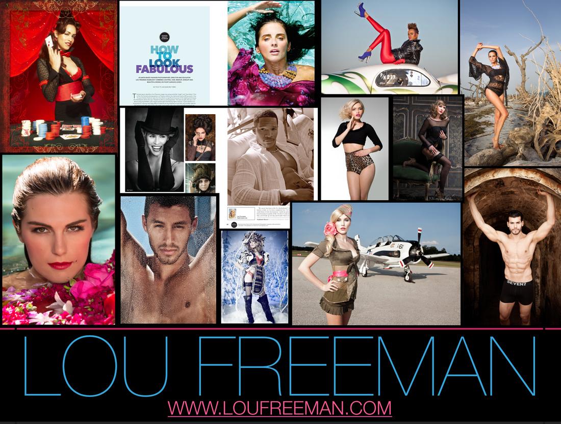 Lou Freeman Glamour Post Card 2