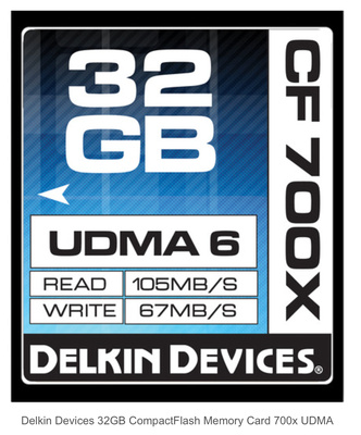 Delkin CF Cards